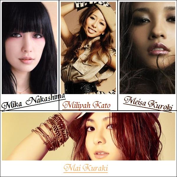 Divas J-pop  M